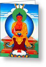 Buddha Of Infinite Light 39 Greeting Card