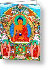 Buddha Shakyamuni 1 Greeting Card