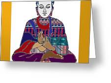 Buddha Spirit Humanity Buy Faa Print Products Or Down Load For Self Printing Navin Joshi Rights Mana Greeting Card