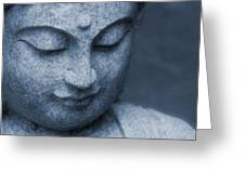 Buddha Statue Greeting Card by Dan Sproul