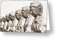 Buddha Statue  Greeting Card