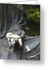 Buddha's Hand Greeting Card