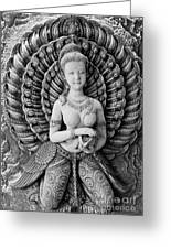 Buddhist Carving 02 Greeting Card