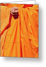 Buddhist Monk 02 Greeting Card