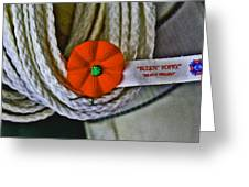 Buddy Poppy Greeting Card