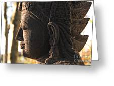 Budha Greeting Card