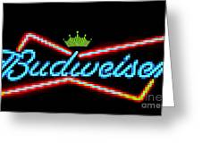 Budweiser 2 Greeting Card