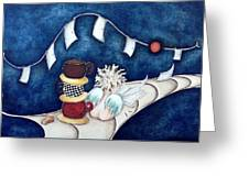 Buenas Noches Inspiracion Greeting Card by Belen Jauregui