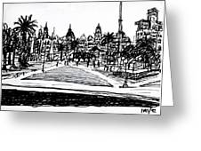 Buenos Aires Argentina  Greeting Card