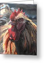 Buff Orpington Cockerel Greeting Card