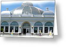 Buffalo And Erie County Botanical Gardens At Eastertime Greeting Card