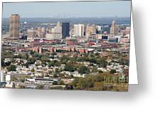 Buffalo And Niagara Falls Skylines Greeting Card