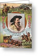 Buffalo Bills Wild West Greeting Card by Unknown