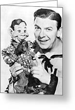 Buffalo Bob And Howdy Doody Greeting Card
