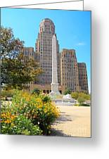 Buffalo City Hall Greeting Card