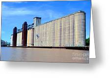 Buffalo Grain Mill Greeting Card