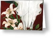 Buffalo Lilies Greeting Card