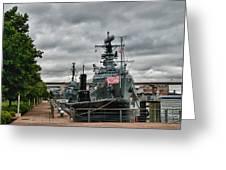 Buffalo Naval And Military Park Greeting Card