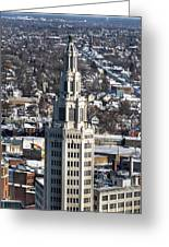 Buffalo Ny Electric Building Winter 2013 Greeting Card