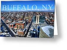 Buffalo Ny Winter 2013 Greeting Card