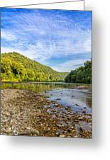 Buffalo River Details Greeting Card