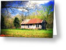 Buffalo River Homestead Greeting Card by Marty Koch