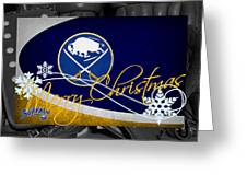 Buffalo Sabres Christmas Greeting Card