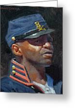 Buffalo Soldier Greeting Card