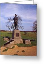Buford At Gettysburg Greeting Card