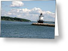 Bug Light Lighthouse 3 Greeting Card