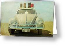 Bug On A Trip Greeting Card