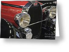 Bugatti Typ 57 Of 1935 Classic Car Greeting Card