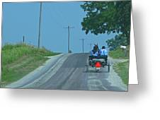 Buggy Ride Greeting Card