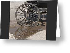Buggy Wheels Greeting Card