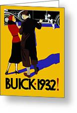 Buick 1932 Greeting Card