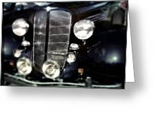 Buick At The Car Show Greeting Card