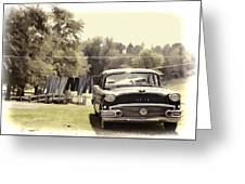 Buick For Sale Two Greeting Card