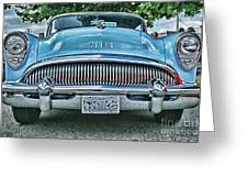 Buick Grills-hdr Greeting Card