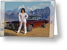Buick Riviera Lowrider Greeting Card