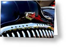 Buick Roadmaster Greeting Card