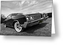 Buick Wildcat 1968 Greeting Card