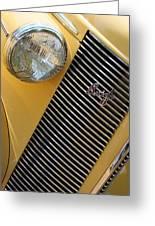 Buick8 Greeting Card
