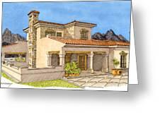 Builders Rendering Greeting Card