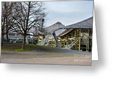 Building At Olympic Village Munich Germany Greeting Card