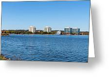 Buildings At The Waterfront, Kempenfelt Greeting Card