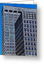 Buildings Downtown Pittsburgh Greeting Card