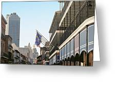 Buildings In A City, Four Points By Greeting Card