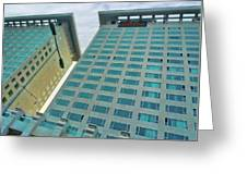Buildings In China Greeting Card