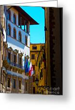 Buildings In Florence Italy Greeting Card