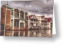 Buildings In Paramaribo Greeting Card